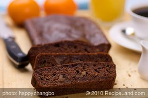 Almost Whole Wheat Chocolate Zucchini Bread