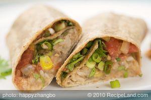 Bean and Rice Burritos (Whole Wheat)