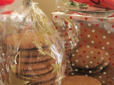 Old Fashion Ginger Snaps
