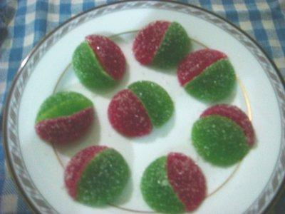 Homemade Jujubes
