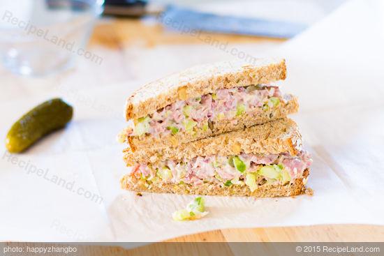 Absolute Best Ham Salad