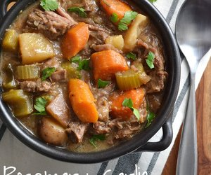 Crockpot Rosemary Garlic Beef Stew