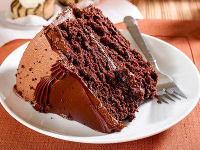 Sour Milk Devil's Food Cake