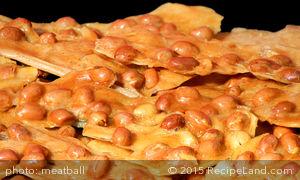Gramp's Microwave Peanut Brittle