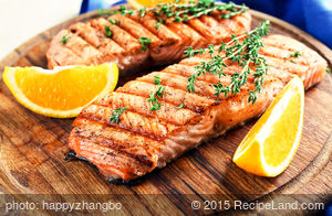 Brown Sugar and Soy Grilled Salmon