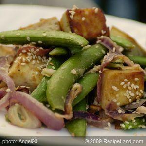 Sesame Maple Roasted Tofu