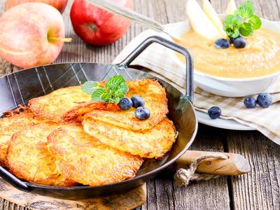 Awesome Grated Potato Pancakes