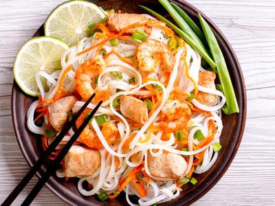 Pad Thai Stir-Fried Rice Ribbon Noodles