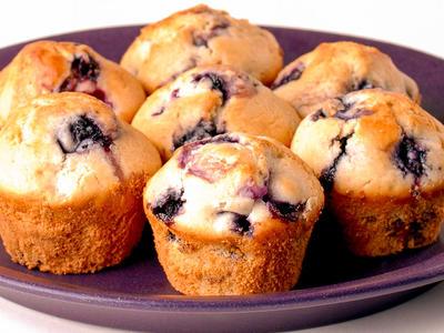 Baking Mix Blueberry Muffins