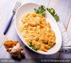 Creamy Shrimp Curry