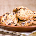 Commercial-Style Oatmeal, Chocolate Chip, Raisin Cookies