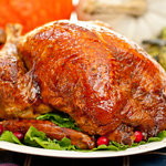 Canadian Maple Roast Turkey & Gravy