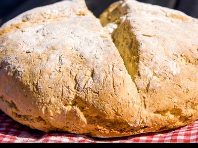 Bread Machine Irish Soda Bread