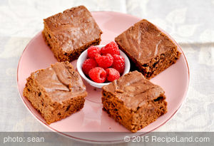 Double Chocolate Brownies Ala Weight Watchers