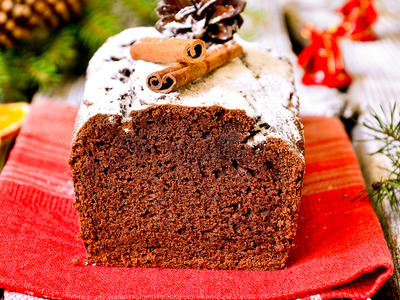 Classic French Chocolate Loaf Cake