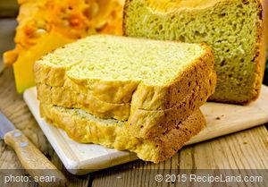 Applesauce-Honey Pumpkin Bread