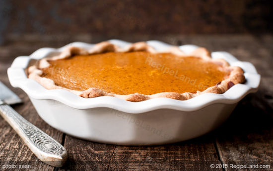 Rude's Cayenne Pumpkin Pie