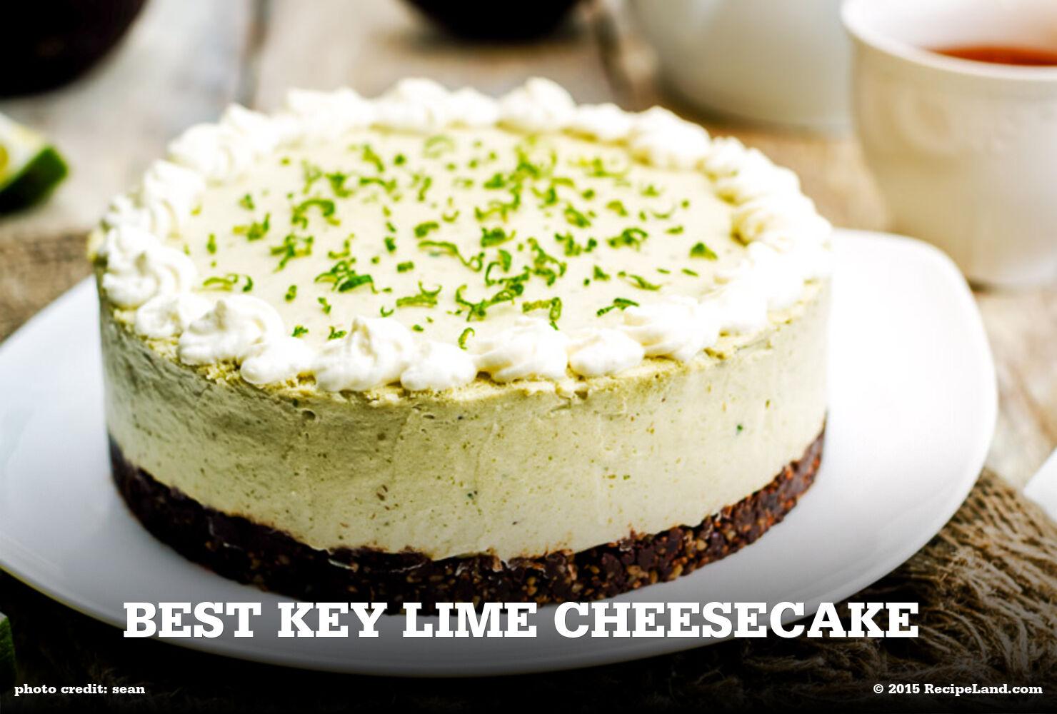 Best Key Lime Cheesecake