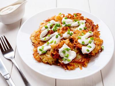 Easy and Tasty Potato Latkes