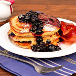Blueberry Pecan Pancakes