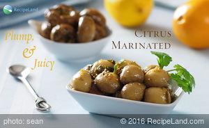 Citrus Marinated Mushrooms