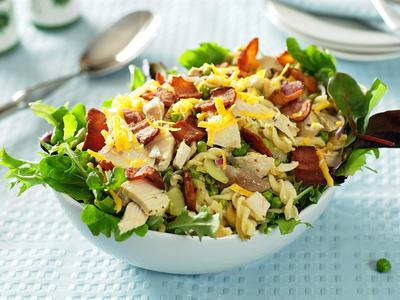 Turkey Bacon Pasta Salad