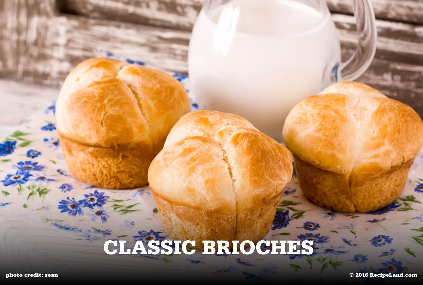 Classic Brioches