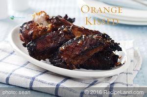 Budget: Asian Spiced Orange Pork Ribs