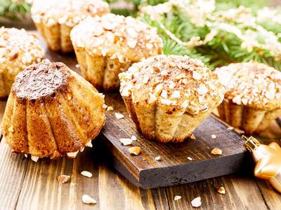 Morning Whole Wheat Spice Muffins