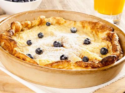 Finnish Breakfast Pancakes
