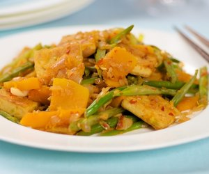 Butternut Squash, Green Beans and Tofu