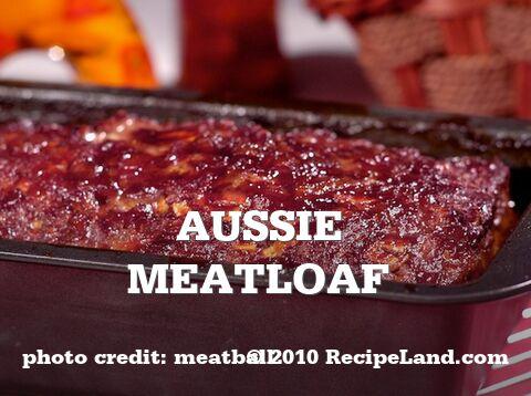 Aussie Meatloaf