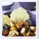 Root Vegetables with Parmesan Cookies
