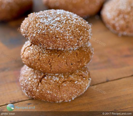 Irish Ginger Snap Cookies