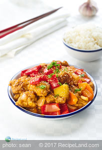 Asian Sweet and Sour Cod