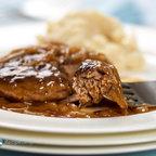 Salisbury Steak with Onion Gravy