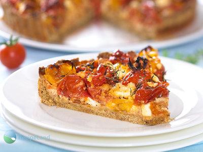Roasted Cherry Tomato and Feta Tart