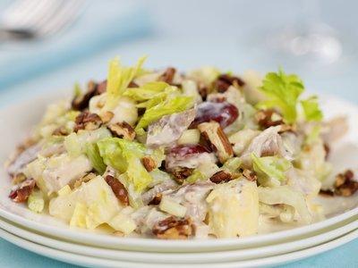 Leftover Turkey Waldorf Salad