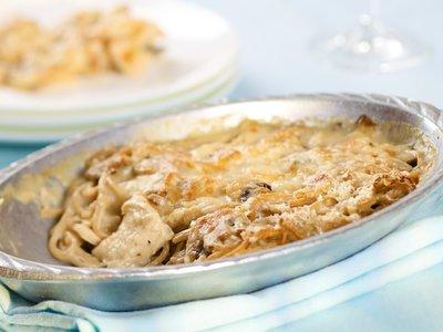 Lowfat Turkey/Chicken Tetrazzini