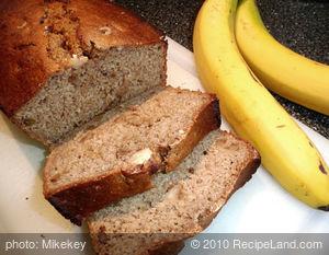 Banana/Applesauce Bread/Low Fat