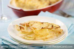 Au Gratin Turnips and Potatoes