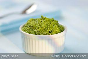Asiago Spinach Pesto