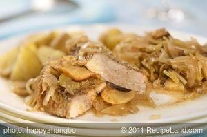 Amazing Baked German Pork Chops