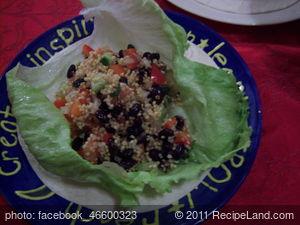 Black Bean and Millet Salad