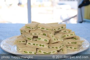Asparagus Cheese Party Sandwiches