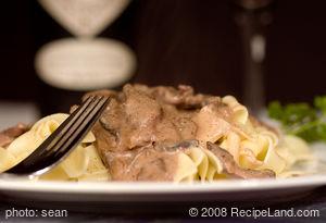 30-Minute Beef Stroganoff