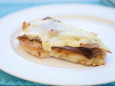 Chicken Breasts with Prosciutto and Cheese