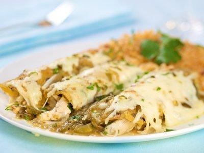 Chicken Enchiladas Verde (Green)