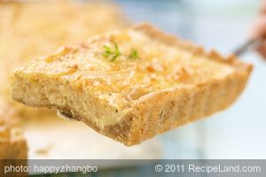 Baby Vidalia Onion Pie or Tart
