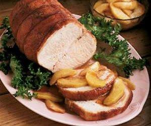 Roast Pork and Spiced Apples